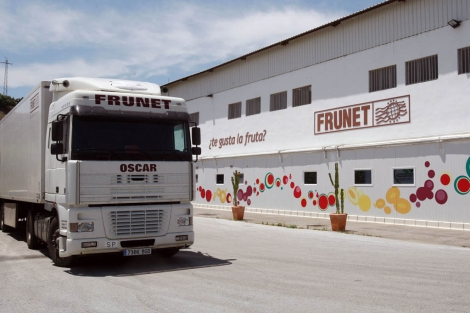 La cooperativa malagueña Frunet, ubicada en Algarrobo. | A. Pastor