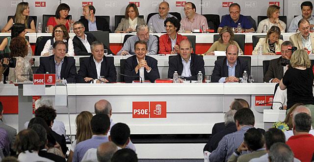 Vista general de la reunión del Comité Federal del PSOE. | Efe