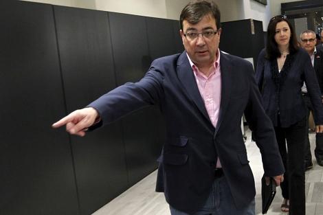 Guillermo Fernández Vara, en el Comité Federal del PSOE. | Efe