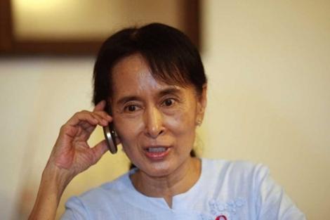 La líder opositora birmana y Premio Nobel de la Paz Aung San Suu Kyi. | Reuters