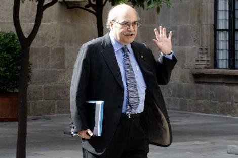 El consejero de Economía de la Generalitat, Andreu Mas-Colell. | Antonio Moreno