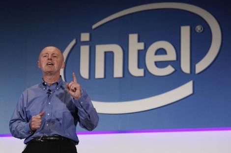 Sean Maloney, vicepresidente de Intel, en Computex. | AP