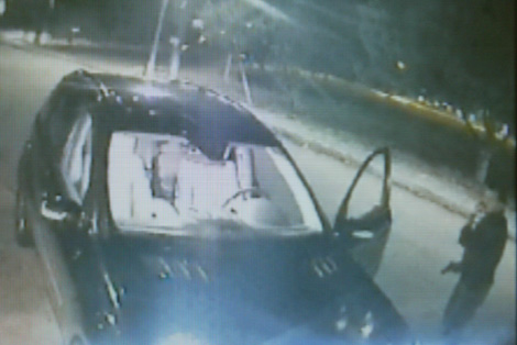 Imagen de la cámara de seguridad.