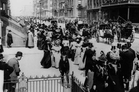 Nueva York, en el siglo XIX. | Ap