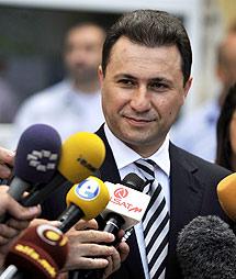 Gruevski, primer ministro. | Ap
