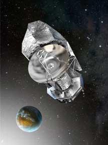 El telescopio espacial Herschel. | ESA