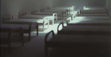 Hospital (1997). | James Casebere