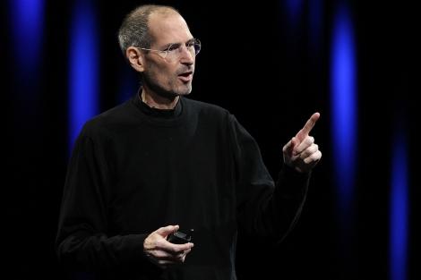 Steve Jobs, este lunes durante la presentación. | Afp