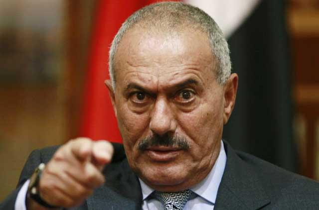 El presidente yemení, Ali Abdulá Saleh, en tratamiento médico estos días en Arabia Saudí. | Reuters