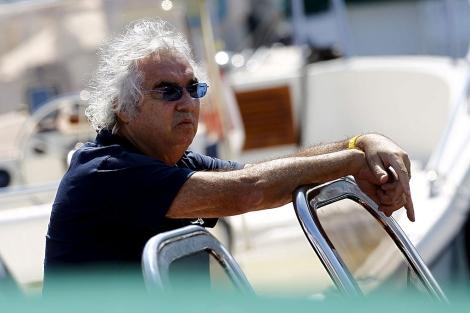 El ex director de la escudería Renault, Flavio Briatore. | Efe