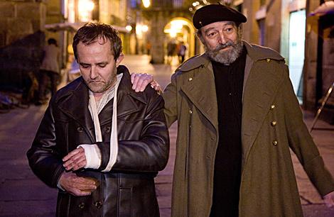 Fotograma de 'Doentes', con los actores protagonistas.