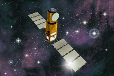 Recreación del satélite CoRoT.|ESA