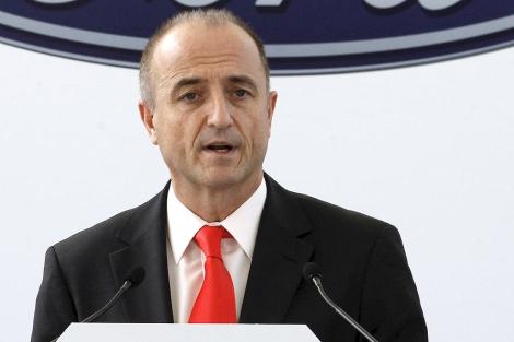 El ministro de Industria, Miguel Sebastián, en un acto el martes en Valencia. | Efe