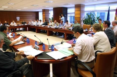 El Consejo de Caza de Castilla y León reunido este jueves en Valladolid. | Ical