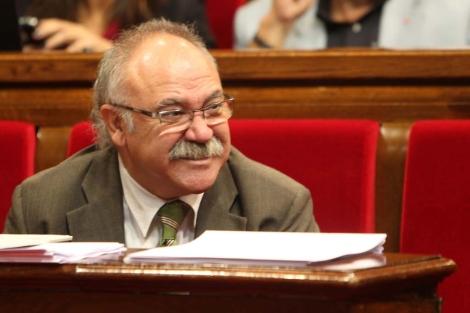 El republicano en el Parlament durante su etapa en el Govern.   Domènec Umbert
