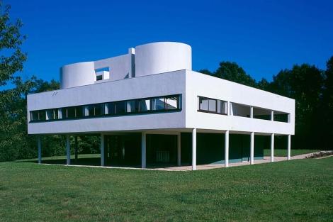 La Villa Saboya, de Le Corbusier. |