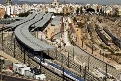 Estación de trenes de Valencia. | Vicent Bosch