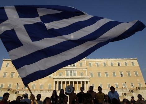 Protestas ante el Parlamento griego. | Reuters