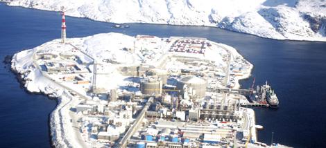 Centro de extracción de gas de Snohvit, en Noruega. | Reuters
