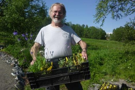 Arve Elvebakk, director del Jardín Botánico de Tromso.   Pedro Cáceres