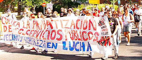 Cabecera de la marcha Noreste en su arranque. | Pedro Blasco