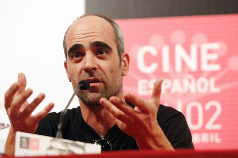 Luis Tosar, en una rueda de prensa en el pasado Festival de Málaga. | A. Pastor