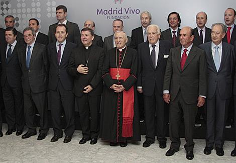 Empresarios del Ibex 35 con Rouco Varela.