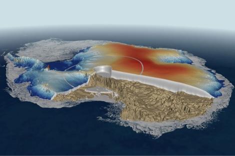 Extensión y espesor del hielo en la Antártida con datos preliminares. | ESA