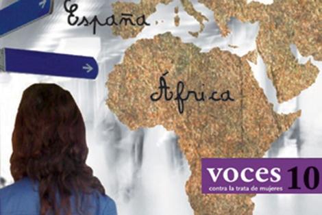 Portada de la décima edición de la revista 'Voces contra la trata de mujeres'. | Divulgación