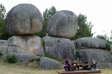 La singular colocación de las piedras ha dado lugar a múltiples teorías. | S.P.