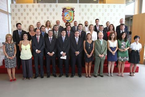 Los 31 nuevos diputados del ente supramunicipal. | Antonio Pastor