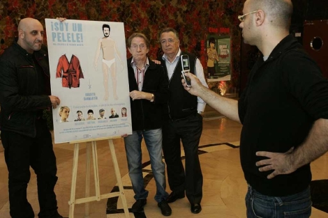 Presentación de la película 'Soy un pelele'.   Diego Sinova