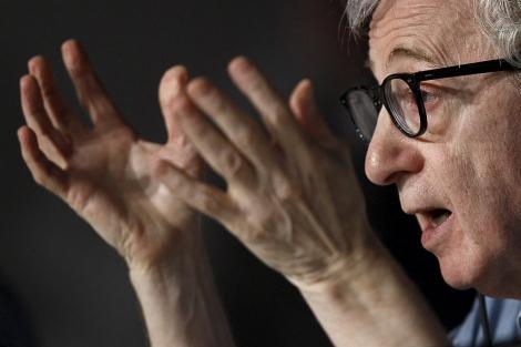 Woody Allen, en el festival de Cannes.   Reuters