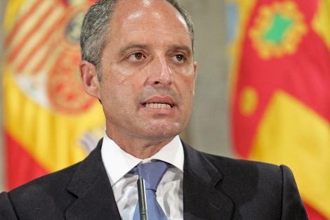 El presidente del Consell, Francisco Camps. | Efe