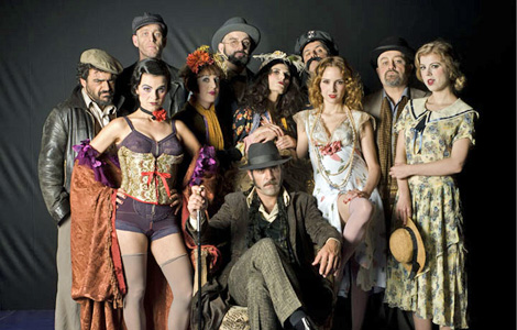Equipo artístico de la obra que promociona el Centro Dramático Galego. | CDG