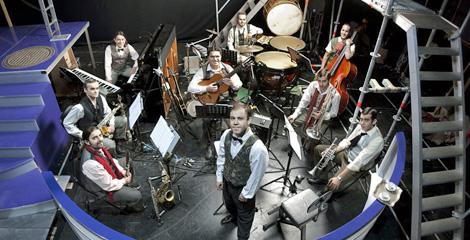 La orquesta que acompaña a los actores en la interpretación. | CDG
