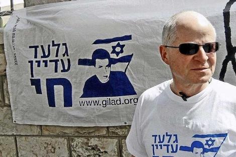 El padre de Guilad Shalit.| S. Emergui