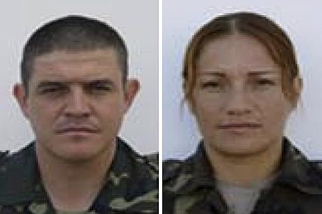 Los fallecidos, Manuel Argudin Perrino y Niyireth Pineda Marín. | Defensa
