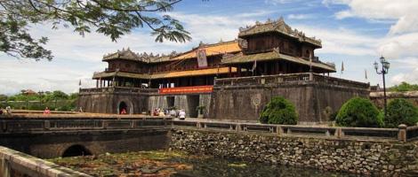 Ciudadela de la dinastía Ho, construida en el siglo XV.