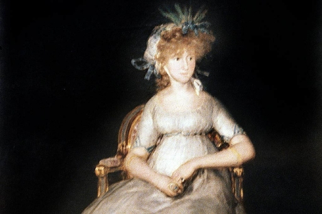 'La condesa de Chinchón', retrato de Francisco Goya. | Efe