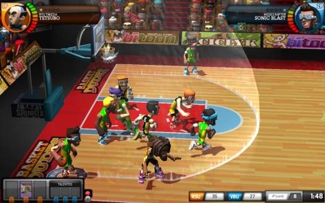Captura del videojuego.