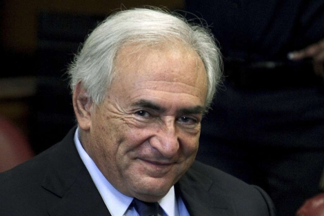 Dominique Strauss-Kahn, en la corte de Nueva York. | Reuters