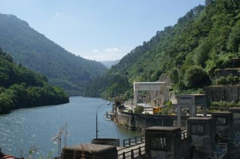 El embalse de Os Peares (Ourense), en el Cañón del río Sil. | M. M.