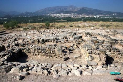 Plano general del yacimiento arqueológico de Puente Tablas. | Manuel Cuevas