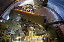 El telescopio Hale.  Palomar Observatory