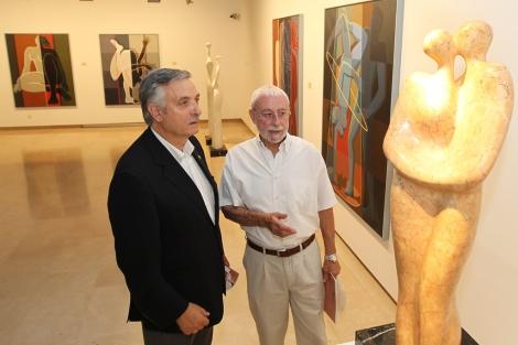 Artemio Domínguez y José Vento. | Foto: Lostau.