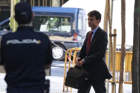 El juez Ruz, ante la Audiencia Nacional.   Javier Barbancho