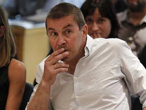 Arnaldo Otegi, hace días, en su primera declaración ante el tribunal. | Pool