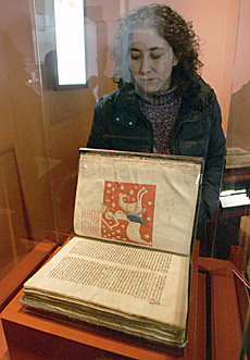 El ejemplar del Códice Calixtino. | Efe