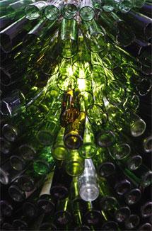 Botellas de vidrio. | S. González
